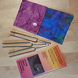 Fonoforese EHBO boekje - 3 stemvorken plus EHBO boekje in etui